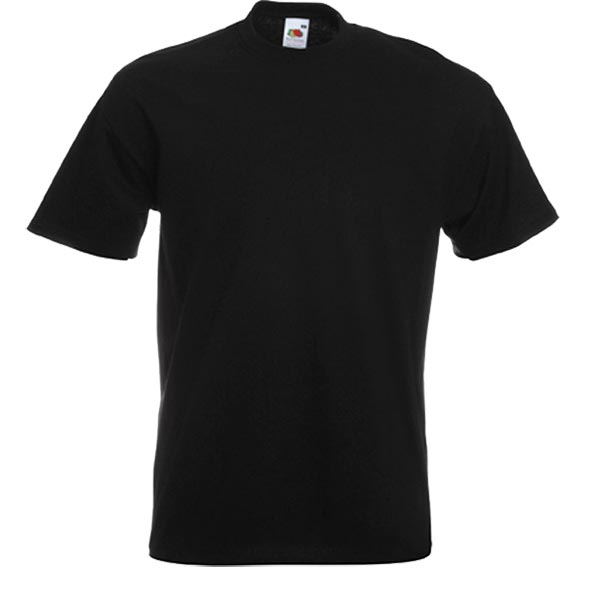 Fruit of the Loom T-Shirt Schwarz